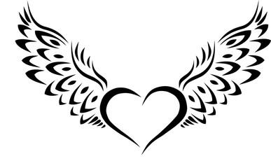 387x240 Tribal Hearts Tattoos