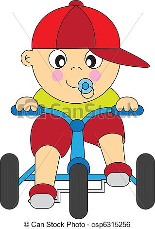 319x470 Boy Tricycle . Boy Driving A Tricycle .