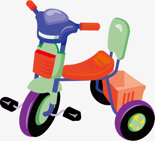 650x591 Tricycle Png Vector Element, Tricycle Vector, Toy Tricycle