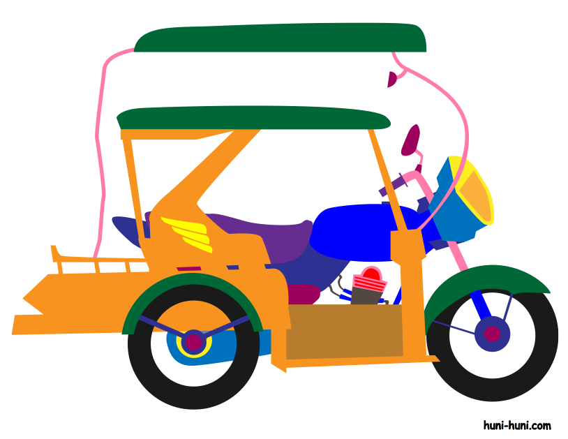 814x629 Tricycle Clipart Transportation
