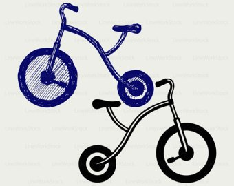 340x270 Tricycle Vector Etsy