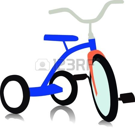 450x428 Tricycle Vector Facepainting Art Clipart