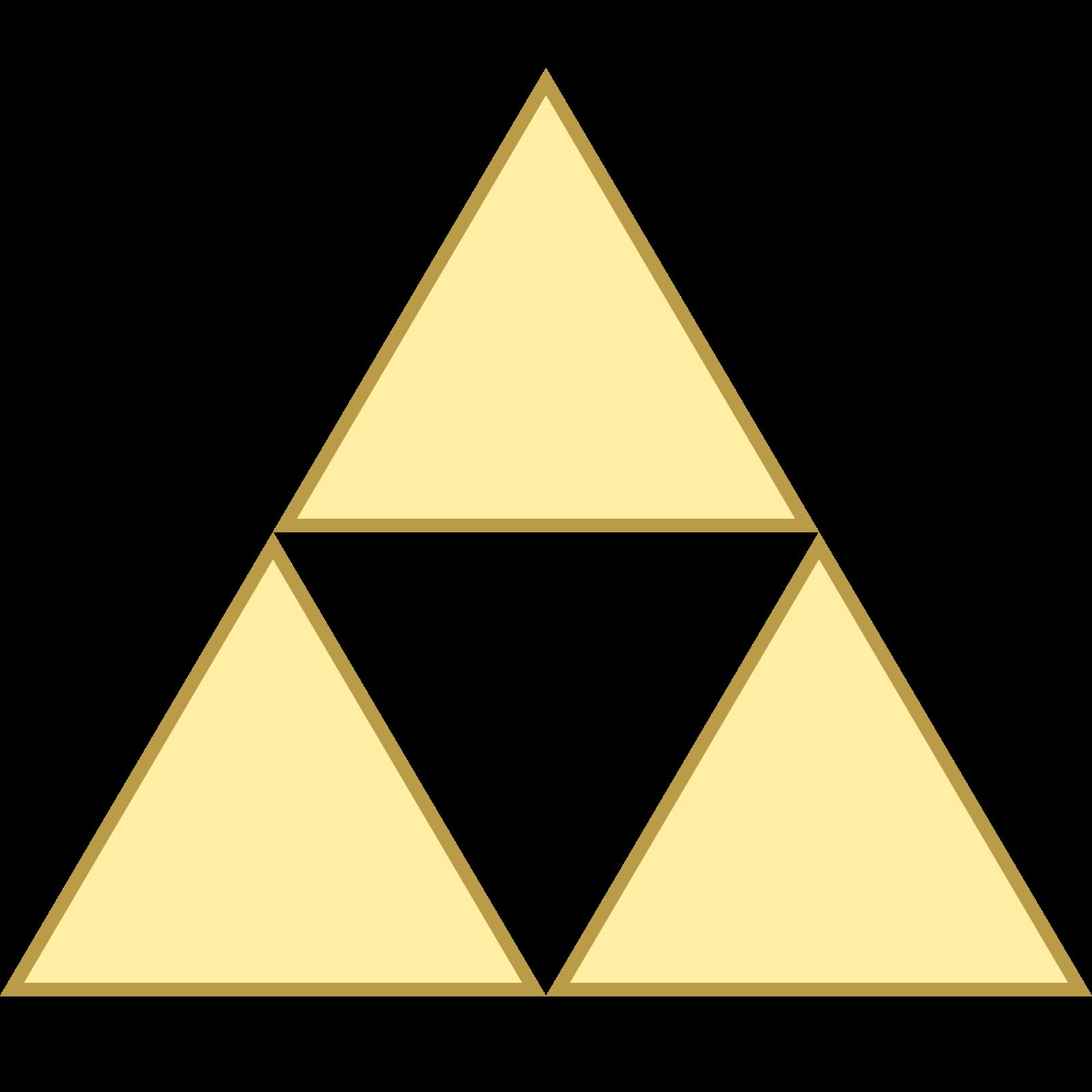 1600x1600 Triforce Icono
