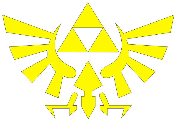Triforce Vector at GetDrawings com | Free for personal use Triforce