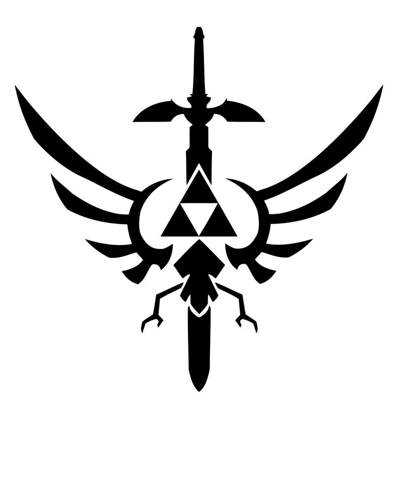 813x983 Triforce Design Vector By Reptiletc