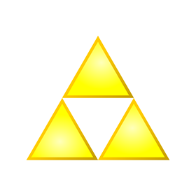 280x280 Triforce Logo Vector Download Free