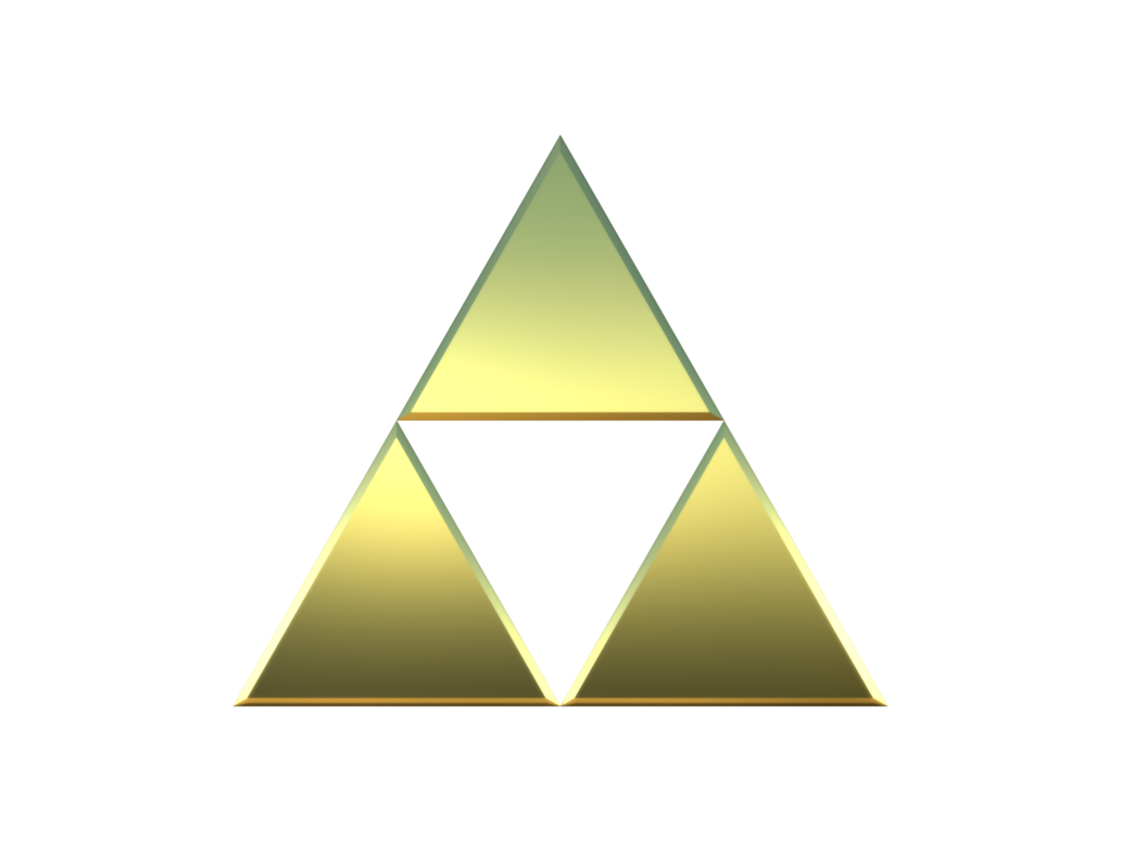 1032x774 Collection Of Free Transparent Triforce Simple. Download On Ubisafe
