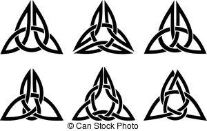 300x190 Trinity Knot Vector Clip Art Illustrations. 488 Trinity Knot