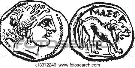 450x228 Ancient Celtic Mythological Symbol Of Horse Trinity. Vector Knot