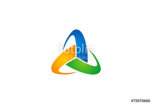 500x342 Trinity Circle Vector Logo Stock Image And Royalty Free Vector