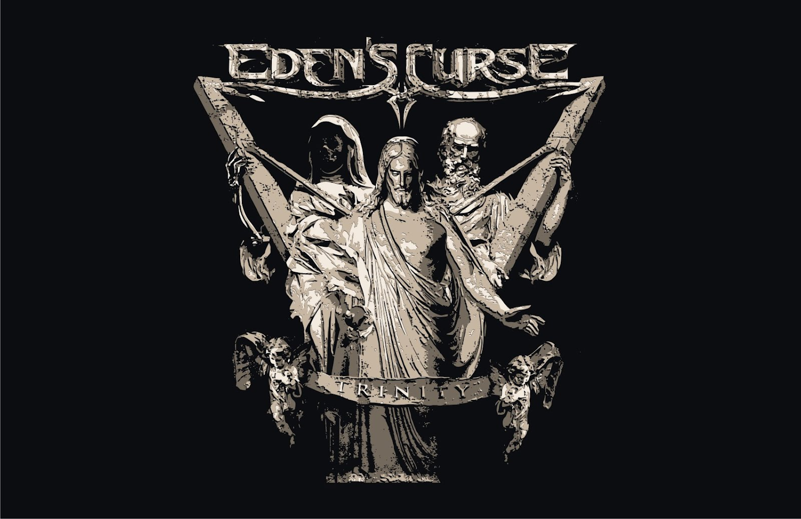 1600x1037 Edens Curse Trinity Vector T Shirts