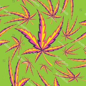 300x300 Psychedelic Marijuana Leaf Vector Illustration Arenawp