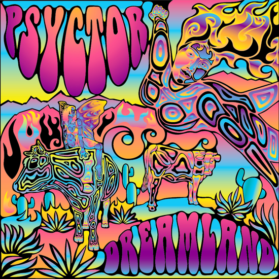 550x550 How To Create A Psychedelic Vector Music Album Cover In Abode