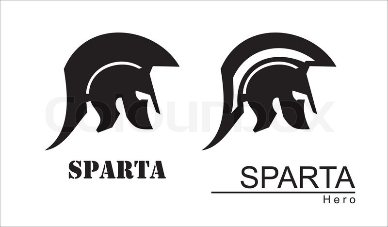 800x468 Trojan Warrior. Historical Sparta Concept Icon. Antique Rome