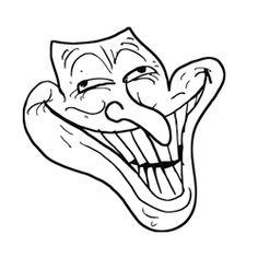 236x236 Trollface Troll Face Vector Wallpaper Troll Face