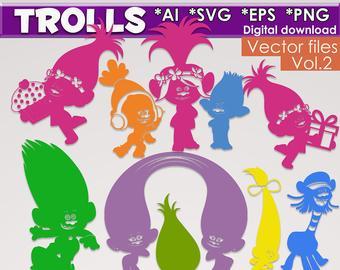 340x270 Trolls Vector Etsy