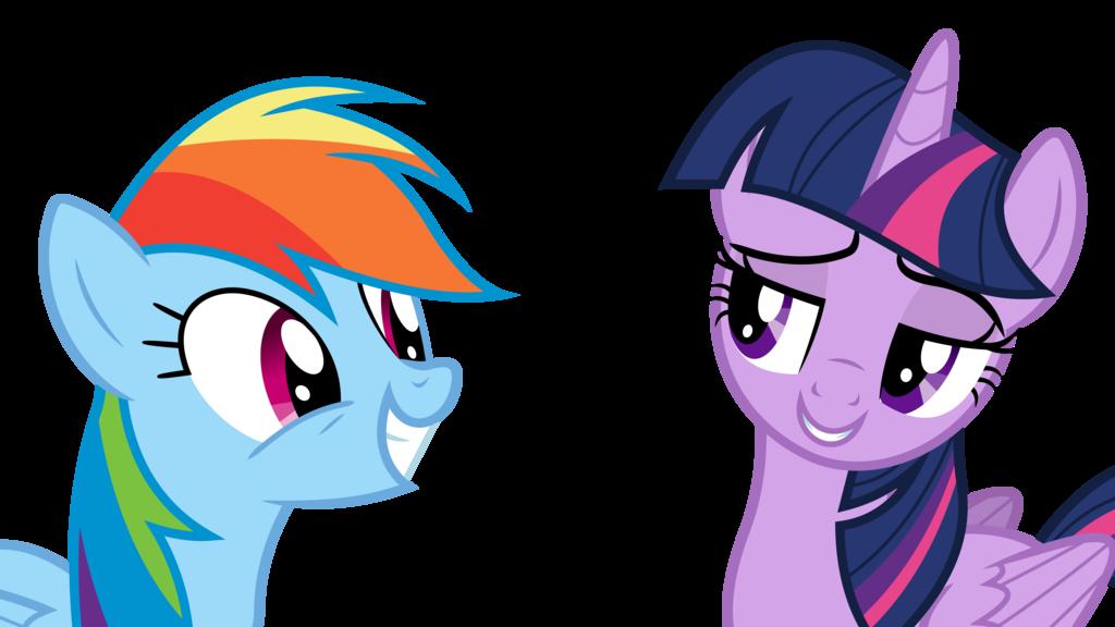 1024x576 Twilight Trolls Rainbow Dash By Dasprid