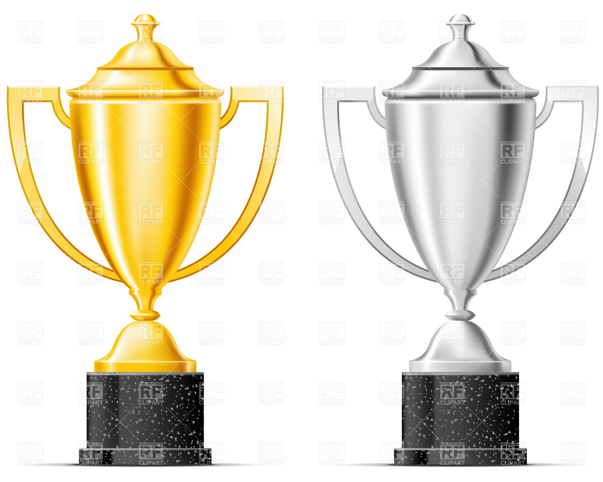 1200x960 Gold And Silver Cup Vector Image Vector Artwork Of Sport And