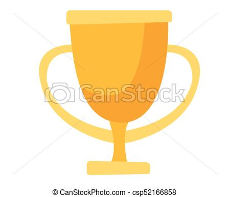 450x387 Golden Trophy Cup Vector Cartoon Illustration. Golden Trophy Cup