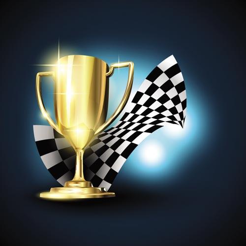 500x500 Racing Trophy Cup Vectors