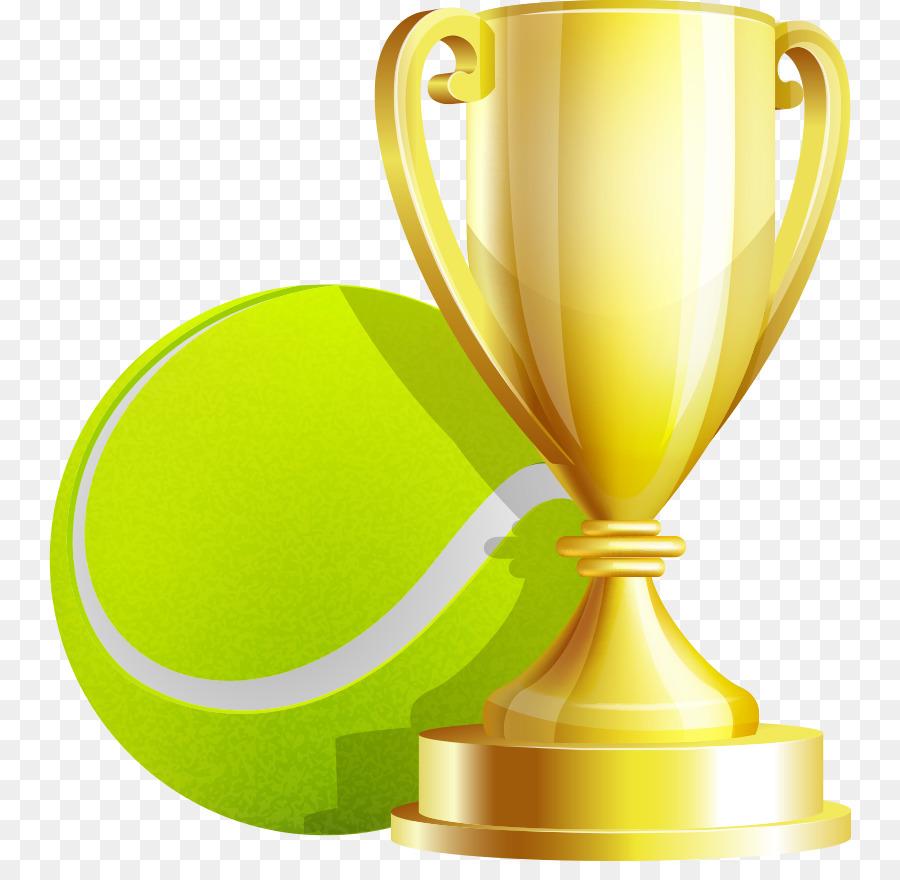 900x880 Tennis Ball Trophy Cup