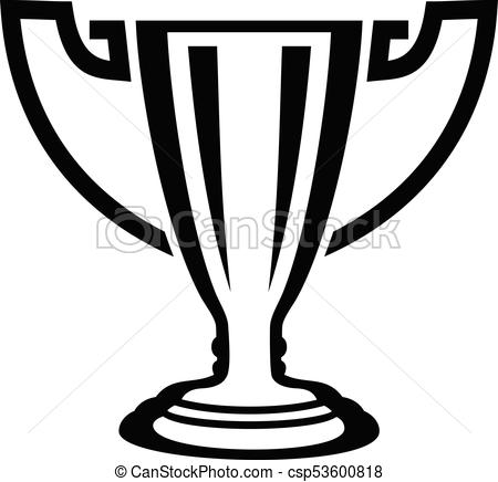 450x436 Trophy Icon, Simple Black Style. Trophy Icon. Simple Illustration