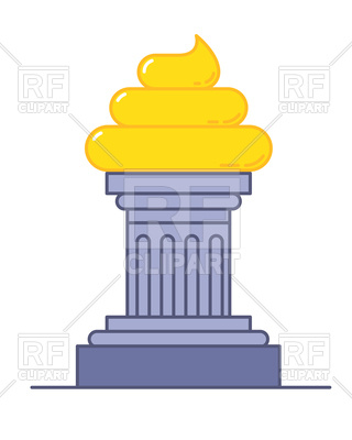 320x400 Golden Poop Award, Funny Trophy Vector Image Vector Artwork Of