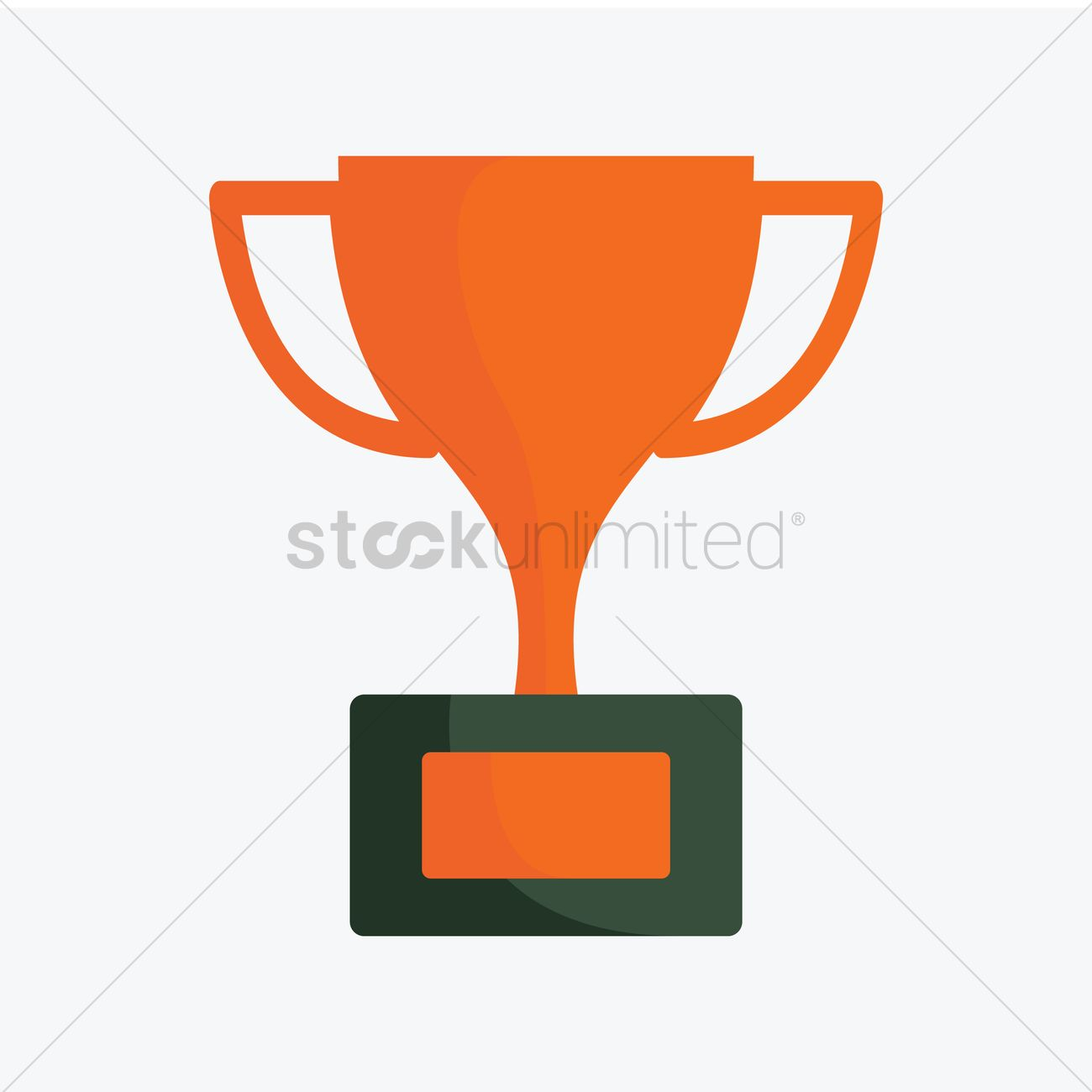 1300x1300 Free A Trophy Vector Image