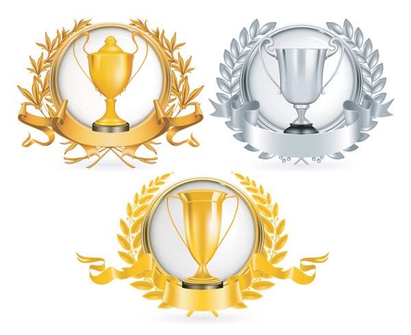 600x489 3d Realistic Gold Trophy Free Vectors Ui Download