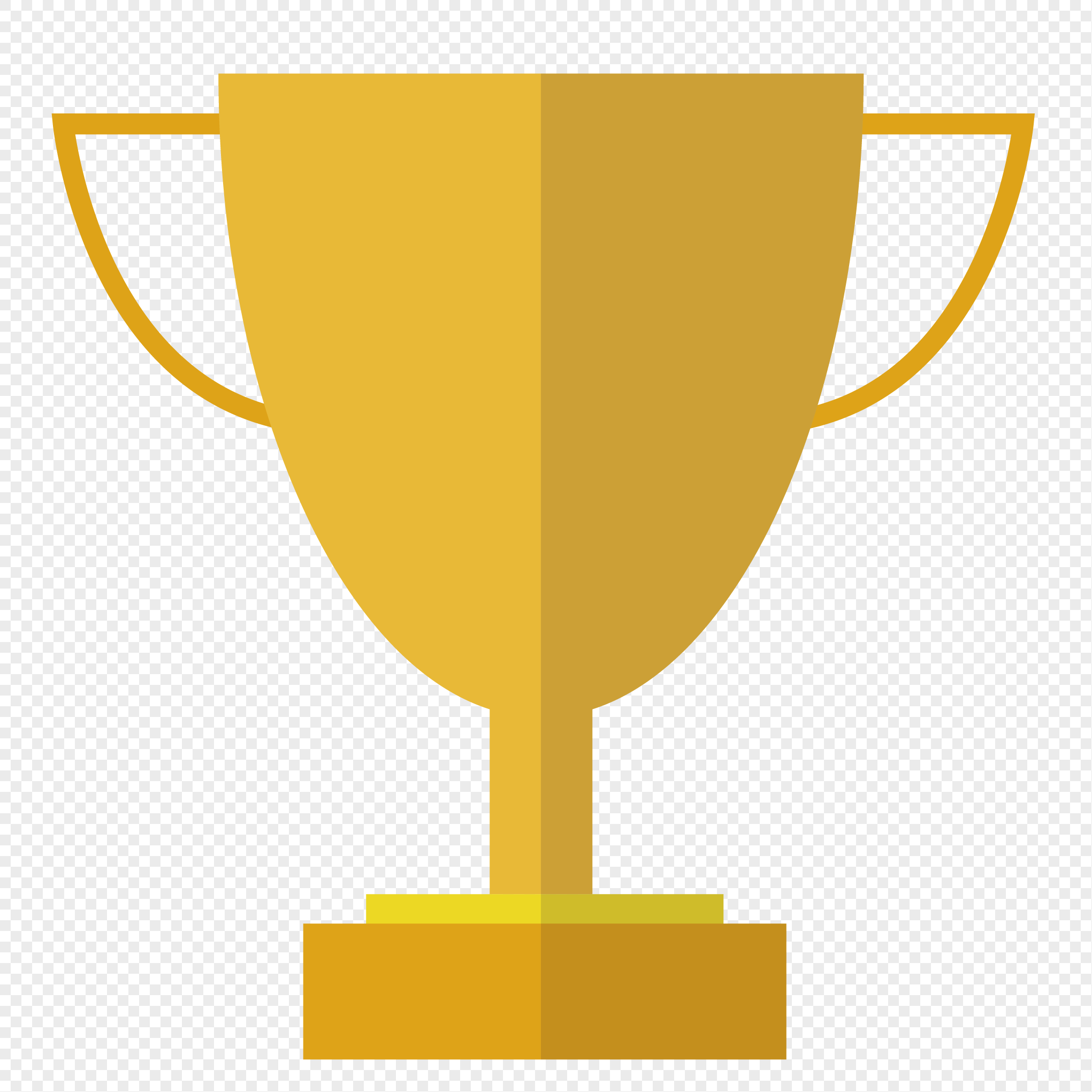 2041x2041 Hand Painted Trophy Vector Material Png Image Picture Free