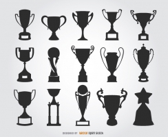244x200 Trophy Vector Free Vector Graphic Art Free Download (Found 396