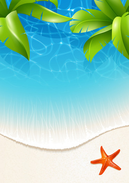 260x368 Vector Jungle Tropical Background Free Vector Download (47,843