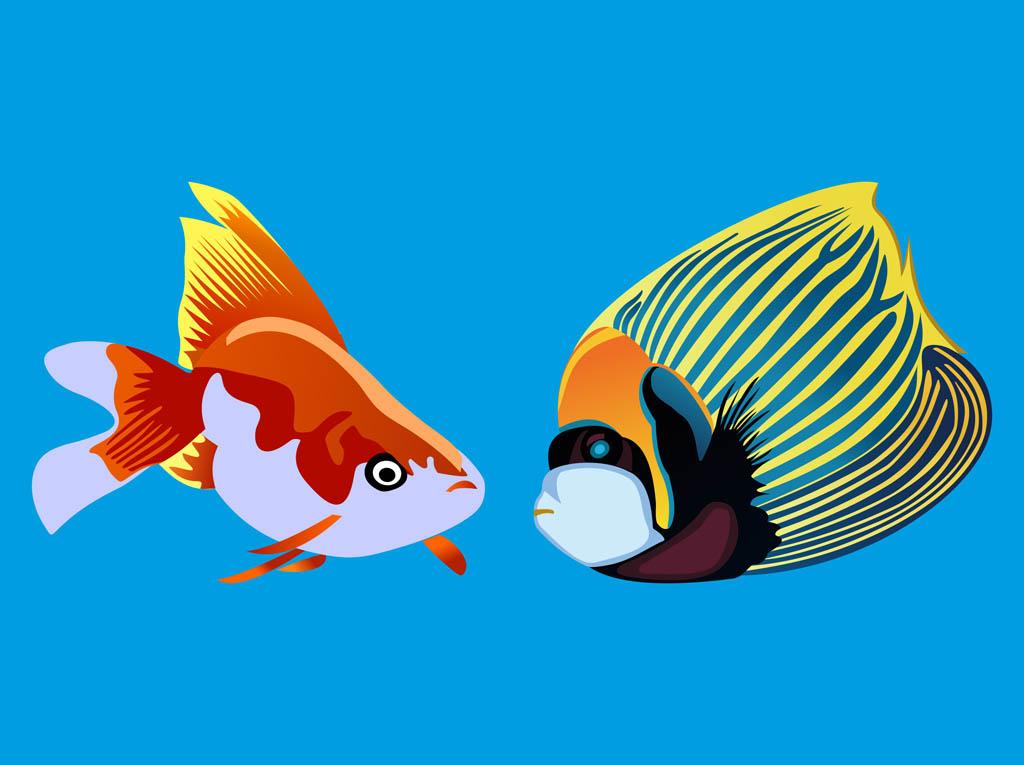 1024x765 Tropical Fish Vector Vector Art Amp Graphics