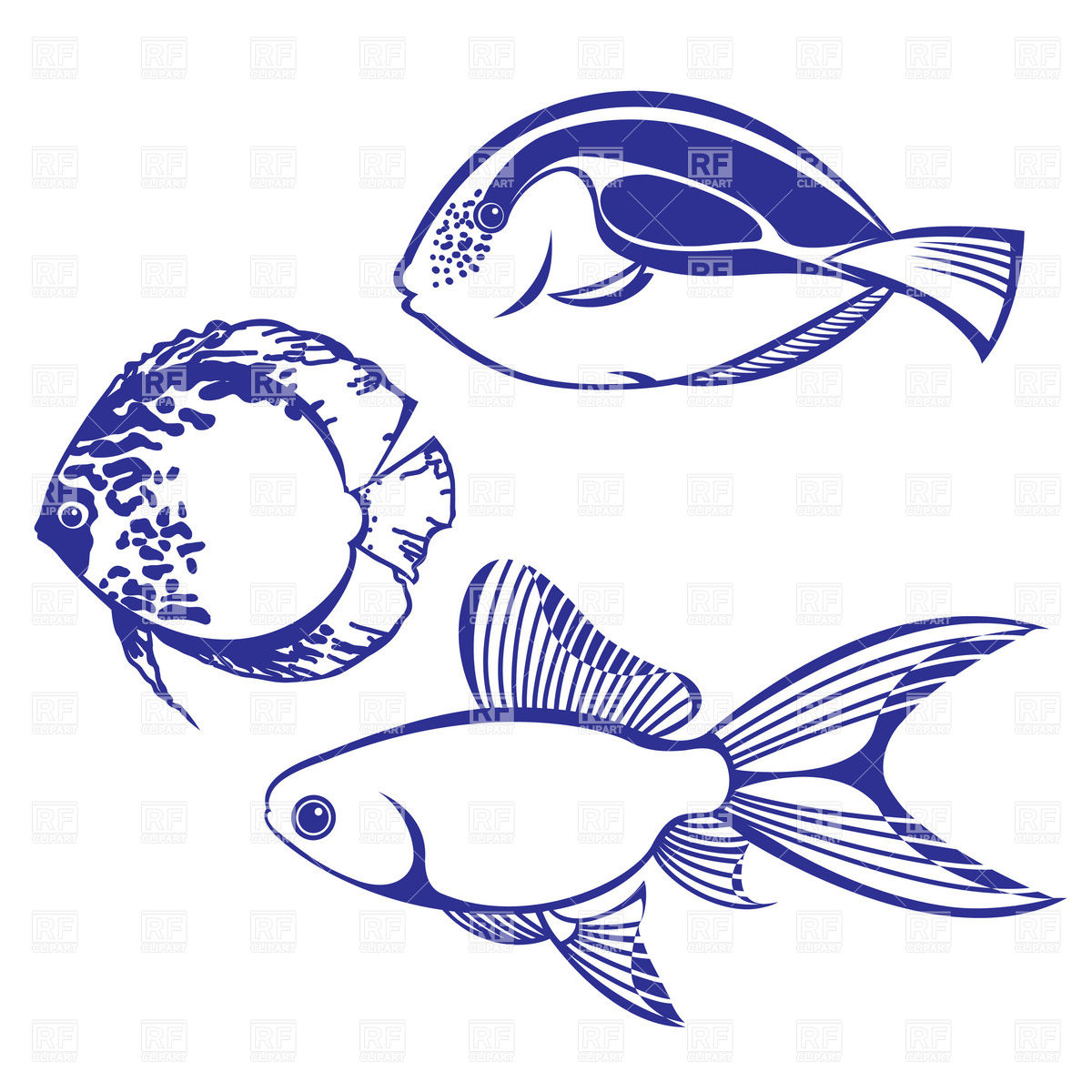 1200x1200 Tropical Fish Vector Images Amp Illustrations Vector Graphics