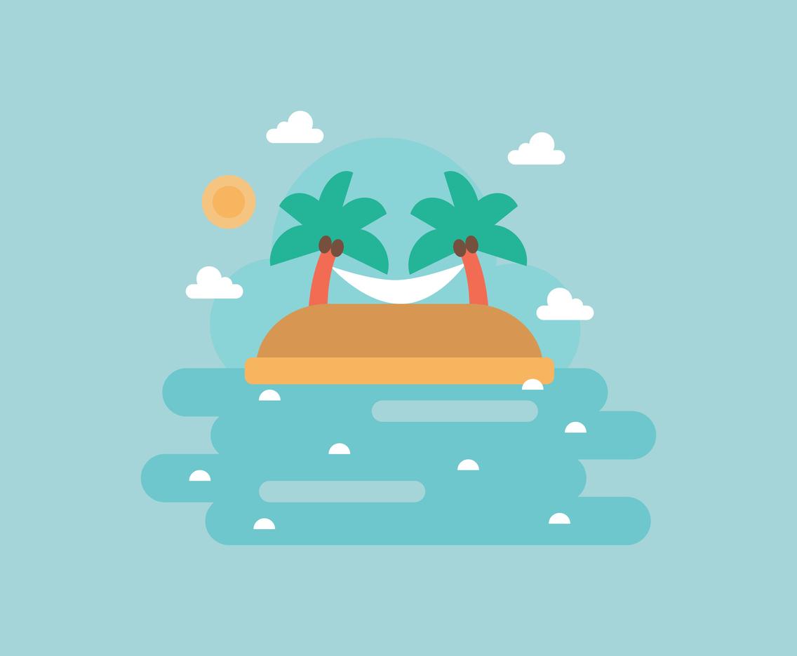1136x936 Tropical Island Vector Art Amp Graphics