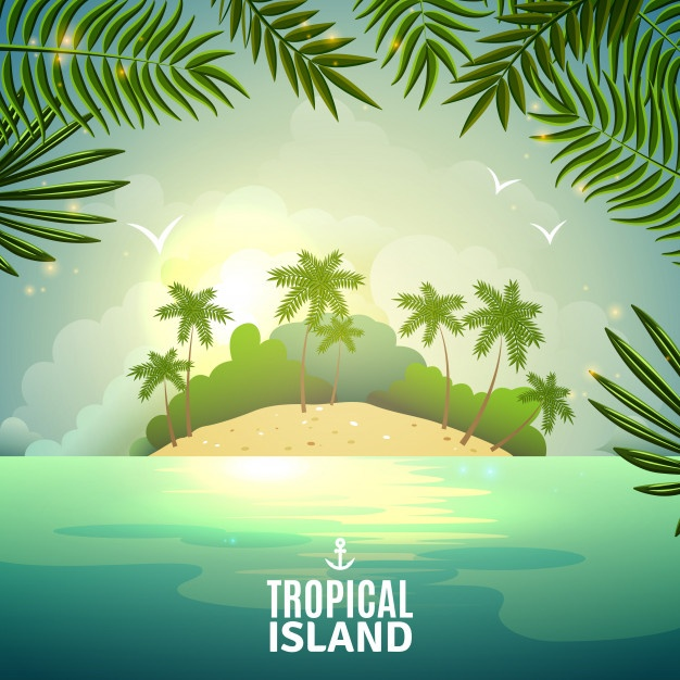 626x626 Tropical Island Vectors, Photos And Psd Files Free Download