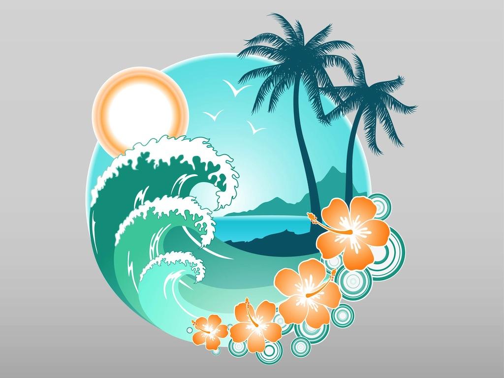 1024x768 Tropical Island