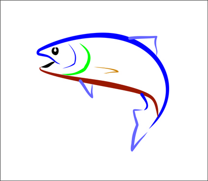 423x368 Trout Vector Free Vector Download (4 Free Vector) For Commercial