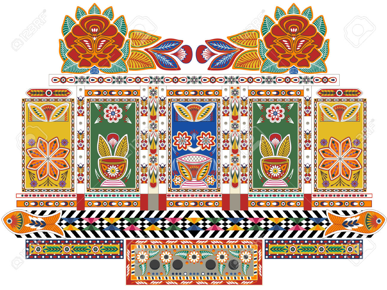 1300x975 Indian Truck Art 56702 Movieweb