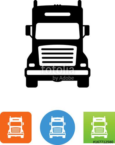 396x500 Semi Truck Front Icon