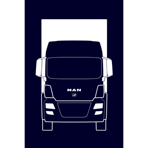 300x300 Truck Clipart Front View