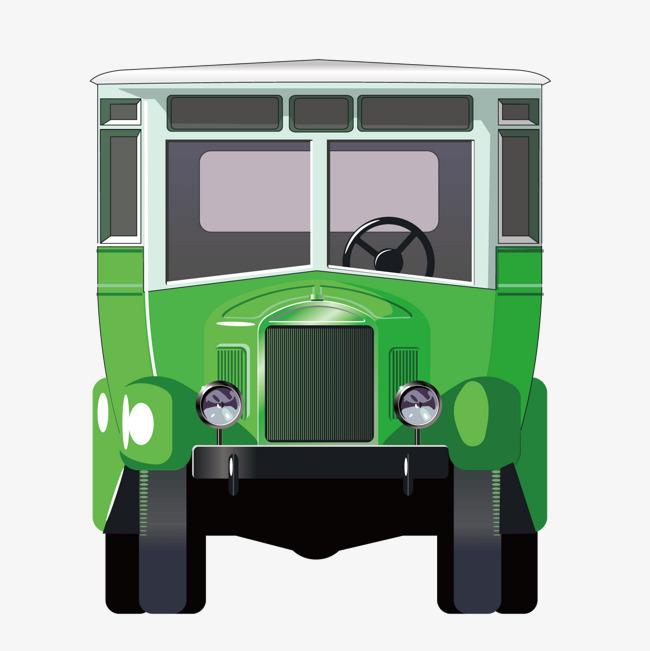 650x651 Vector Green Truck Front Van, Green Vector, Truck Vector, Van