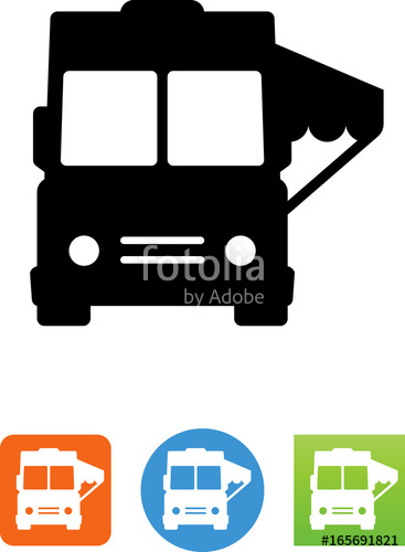 367x500 Food Truck Front View Icon
