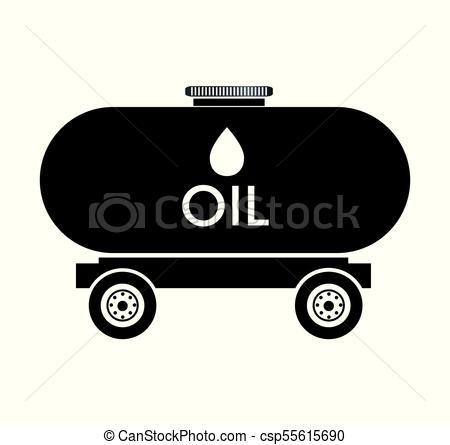 450x445 Oil Tank Truck Icon Vector Illustration Design.