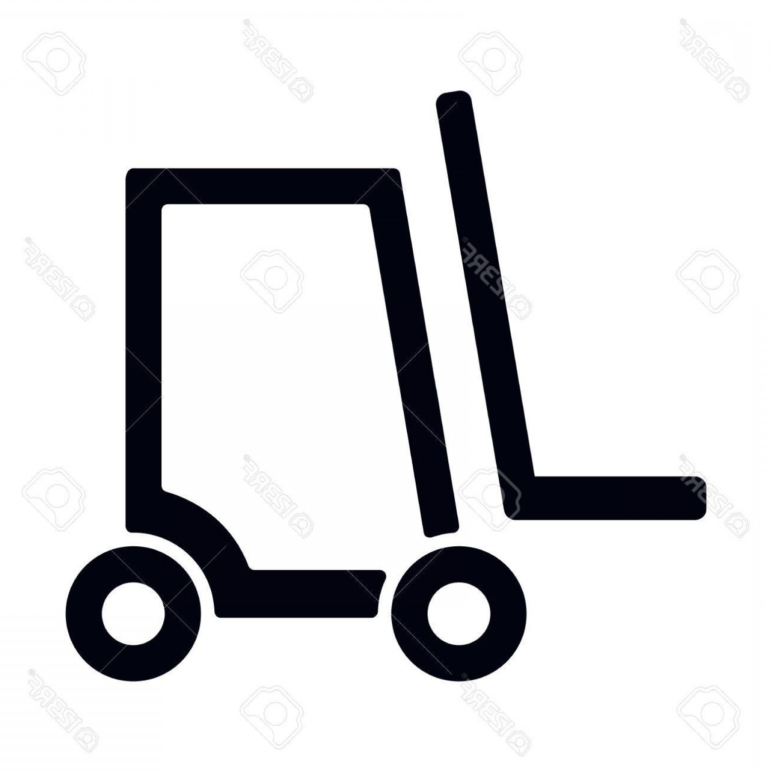 1560x1560 Photostock Vector Forklift Truck Icon Vector Illustration Arenawp