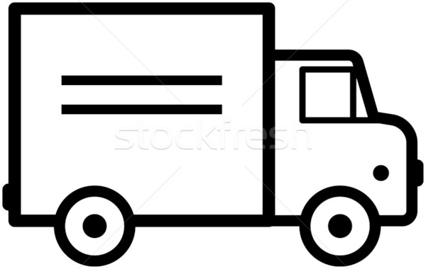 600x380 Simple Truck Icon