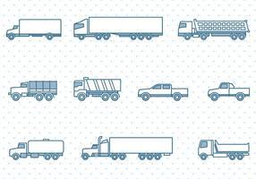 286x200 Truck Free Vector Art