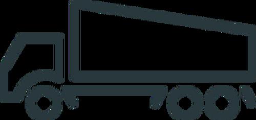 500x235 Truck Icon Line Art Vector Illustration Public Domain Vectors