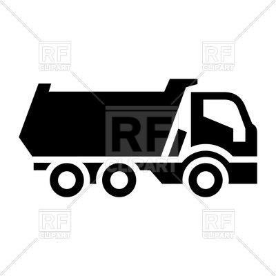 400x400 Black Truck Icon Vector Image Vector Artwork Of Signs, Symbols