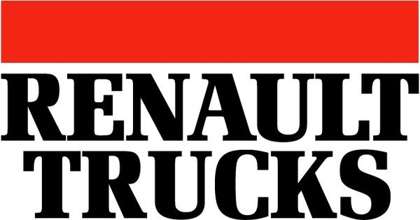 600x314 Renault Trucks Free Vector In Encapsulated Postscript Eps ( .eps